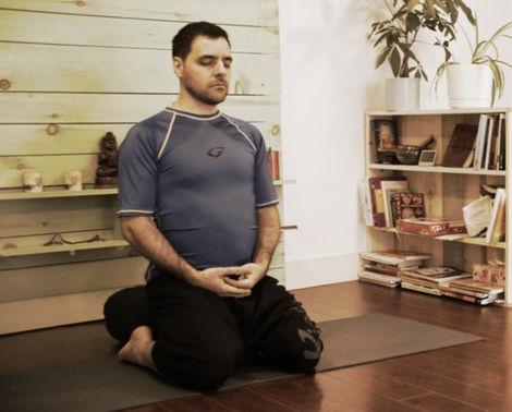 Patrick Dufault, méditation