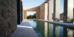 La Chiusa Swimming Pool 1 left view at s