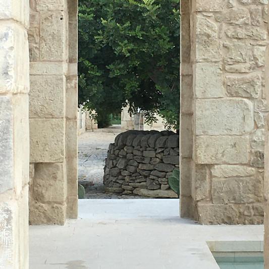 La Chiusa particolare piscina Seba sett