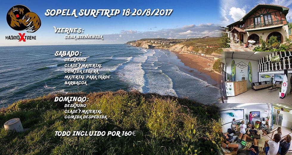 SurfTrip Bilbao Sopelana DEL 18 AL 20 DE AGOSTO!