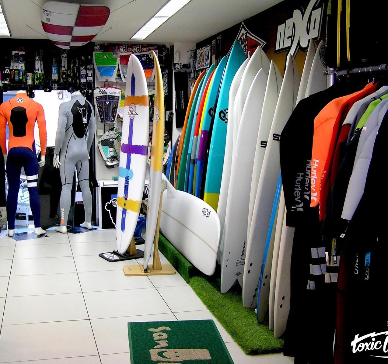 toxicworld madridxtreme  tiendas de surf en madrid