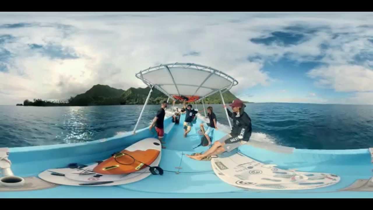 Video 360 Surf Tahiti