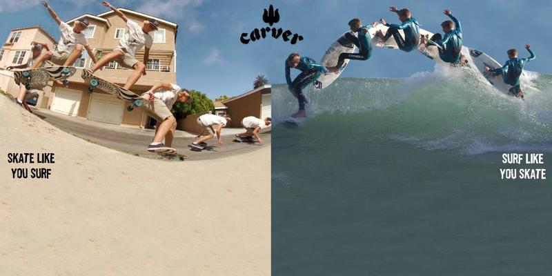 skate like you surf
