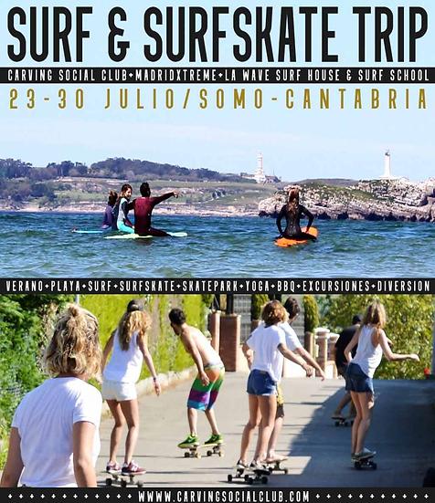 Surf Trip Somo Semana entera
