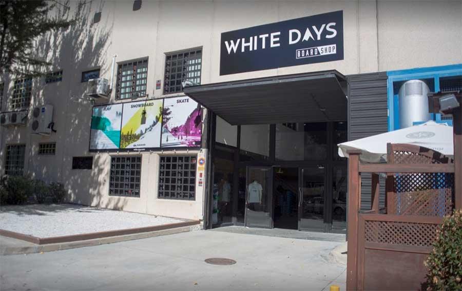 WHITE DAYS tiendas de snowboard madrid