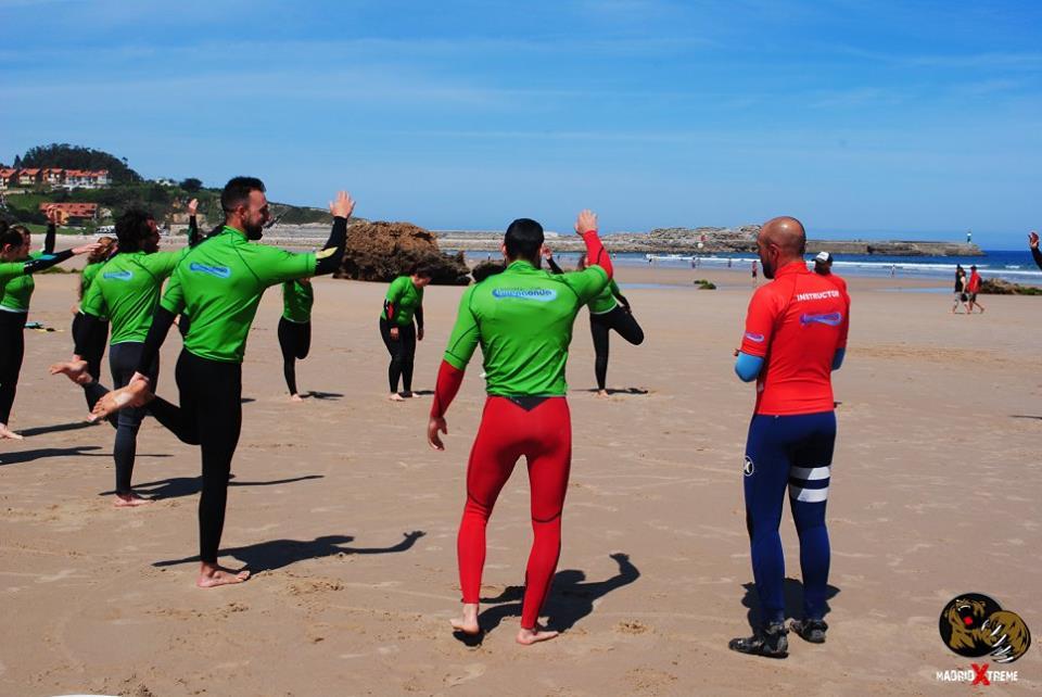 Imágenes del último surftrip de MadridXtreme a San Vicente de la Barquera, con el apoyo de la escuela de surf Buena Onda.