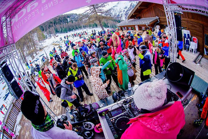 SNOWATTACK FESTIVAL ALPES DEL 25 DE ENERO AL 01 DE FEBRERO