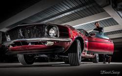 Man and his Mustang