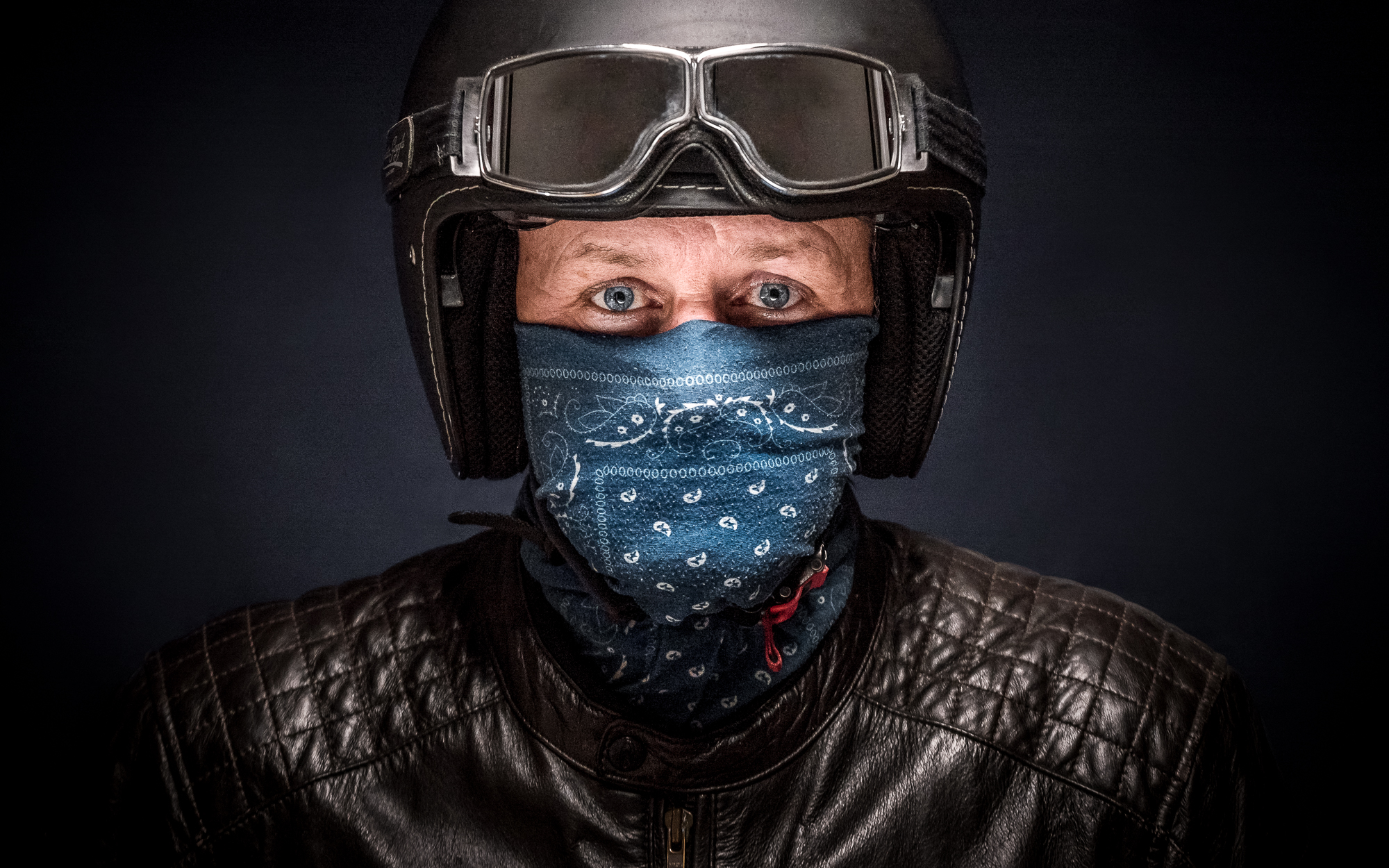 Portrait of a Biker