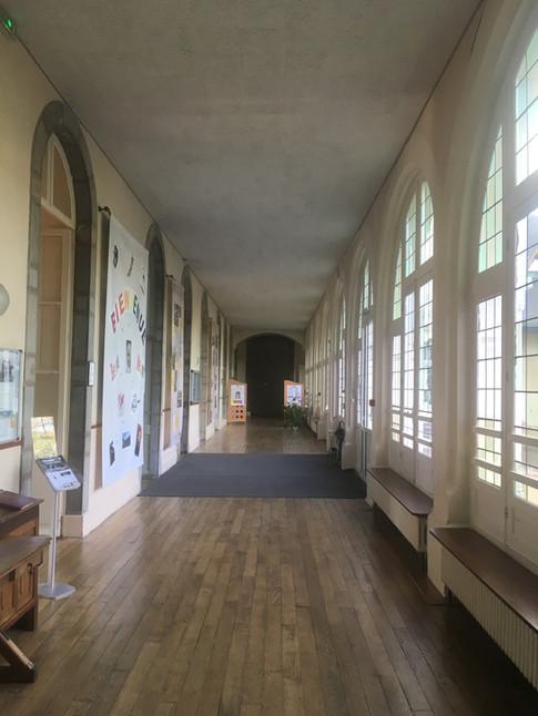 Hall d'entrée du Centre Assomption