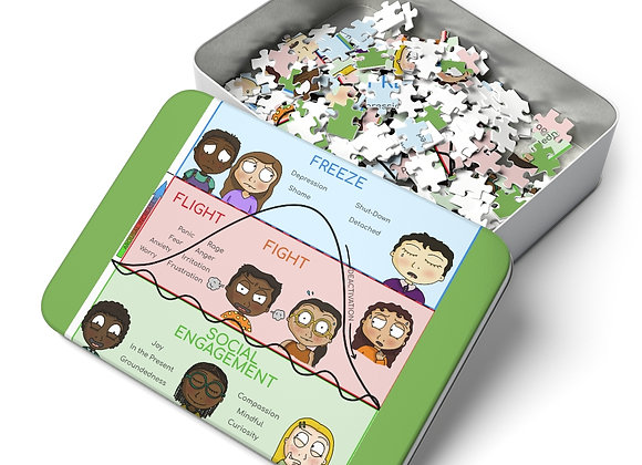 Polyvagal Theory Puzzle for Kids