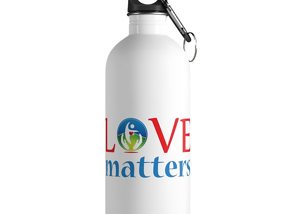 Love and H2O Matter Stainless Steel Bottle