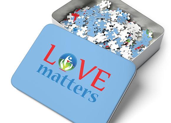 Blue Love Matters Puzzle