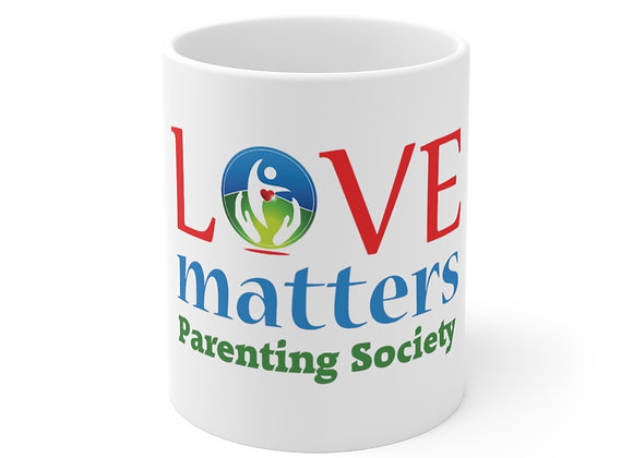 Love Matters Parenting Society Official Self-Care Mug