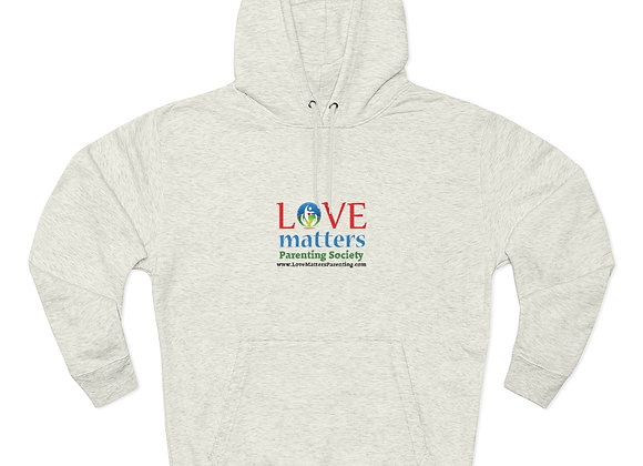 Love Matters Parenting Society Pullover Hoodie