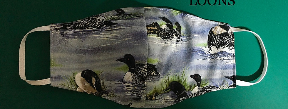 Log Cabin Sewing Cloth Masks -- specialty prints!