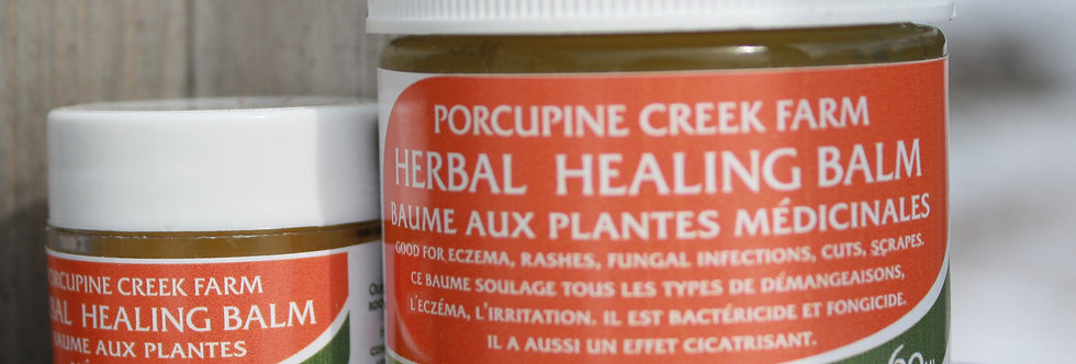 Porcupine Creek Herbal Healing Balm