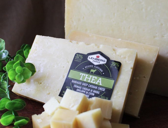 Ontario Cheese Union - Thea Bandaged Sheep Cheddar
