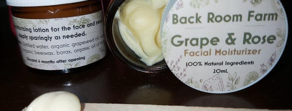 Back Room Farm Grape & Rose Face Cream
