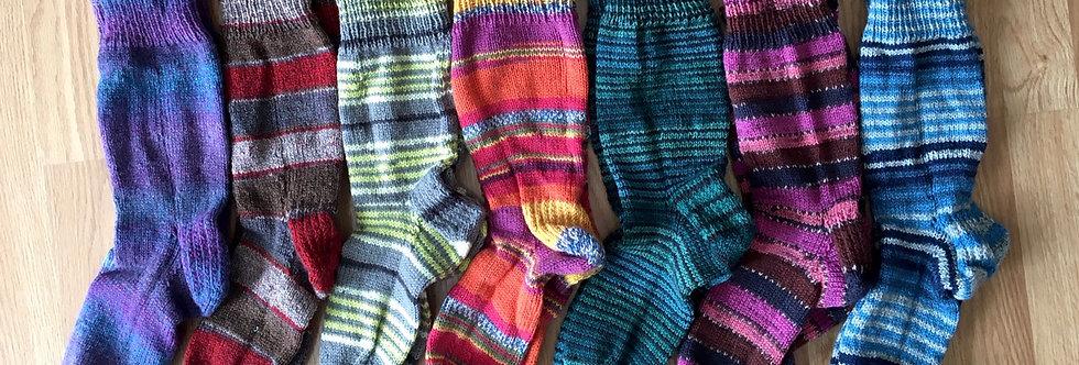 Nola's Knitting Socks