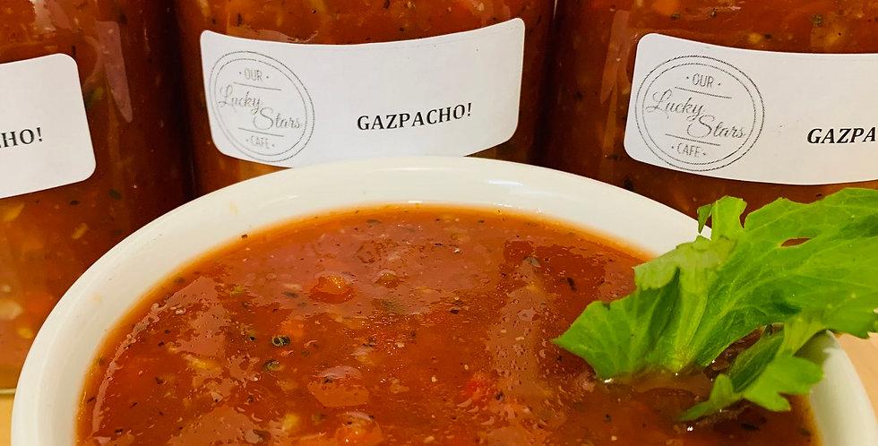 Our Lucky Stars Kitchen Gazpacho
