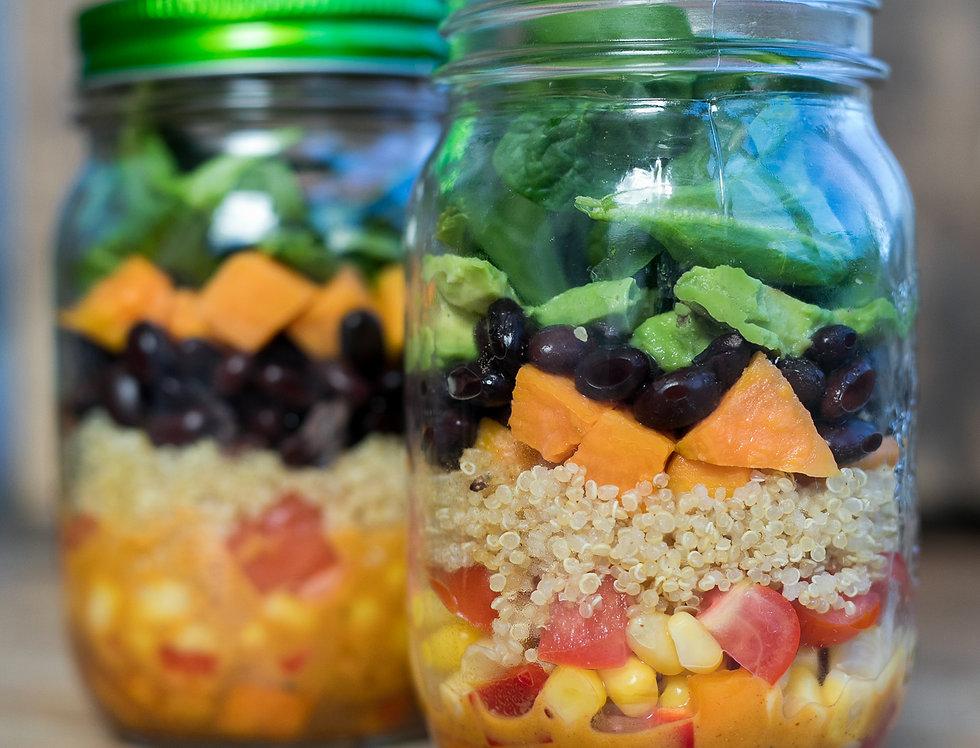 Sans Kitchen Salad Jar -- Mexican Fiesta