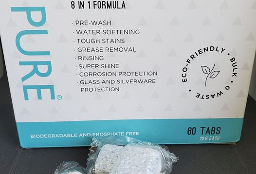 Zero Waste Pure Dishwasher Tabs