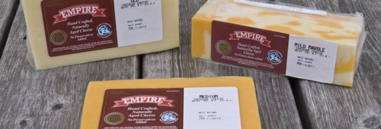 Empire Cheddar Cheese - OLD