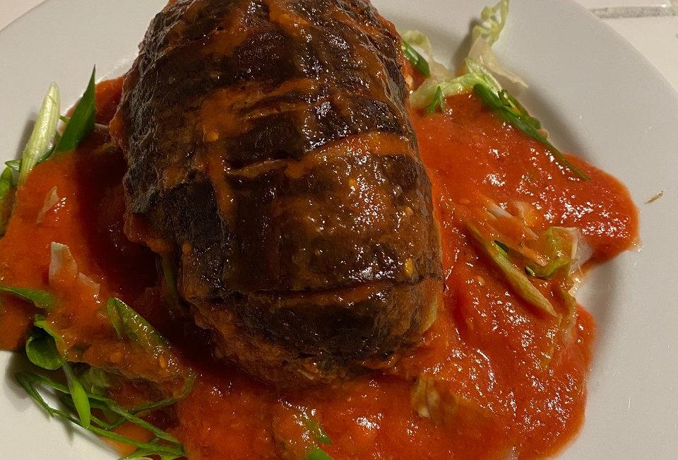 Ron's Rauchhaus Tuscan Smoked Meatloaf