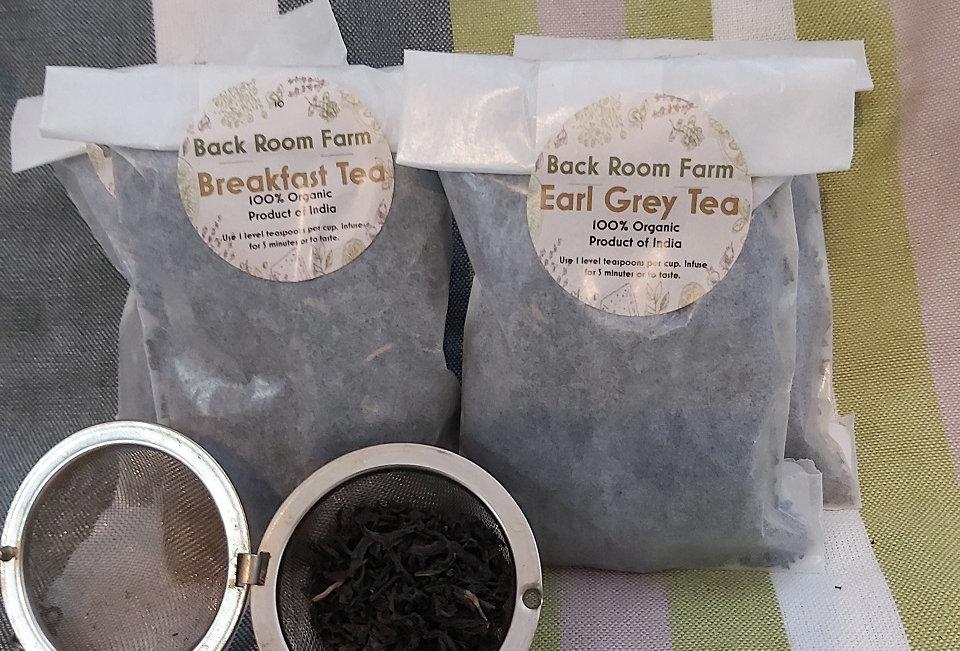 Back Room Farm Organic Loose Tea Gift Set