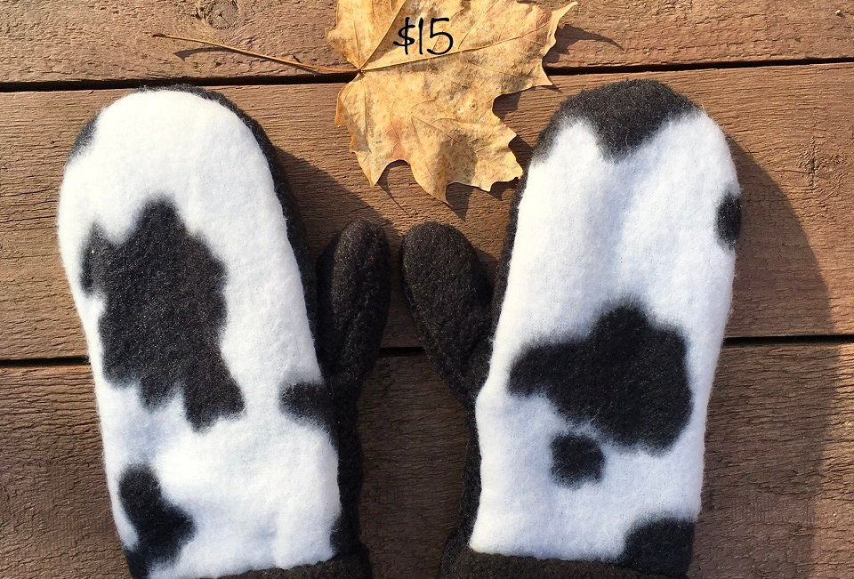 Log Cabin Sewing Children's Mittens