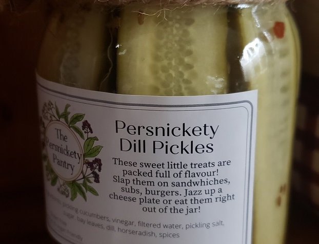 Persnickety Pantry Dill Pickles