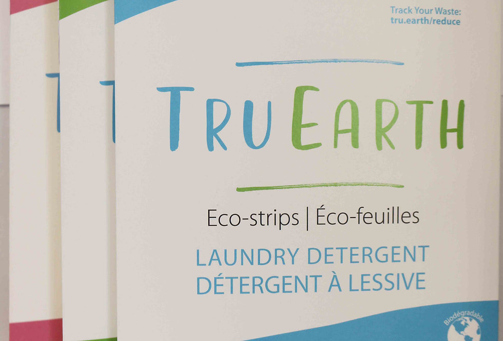 Zero Waste Laundry Detergent Eco-strips
