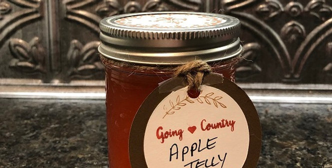 Going Country Apple Jelly