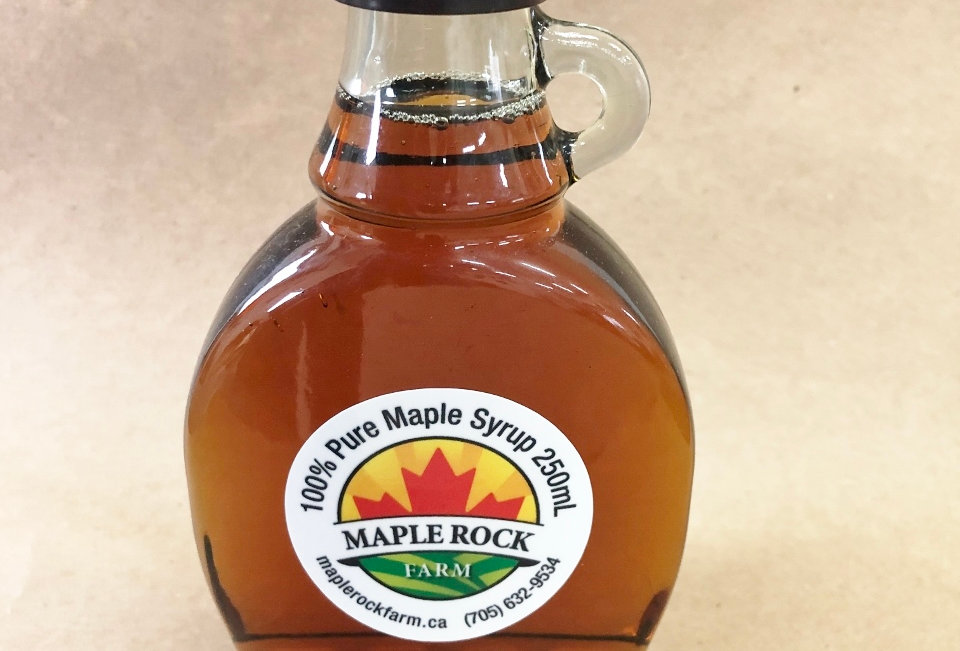 Maple Rock Farm Syrup - gift sizes!
