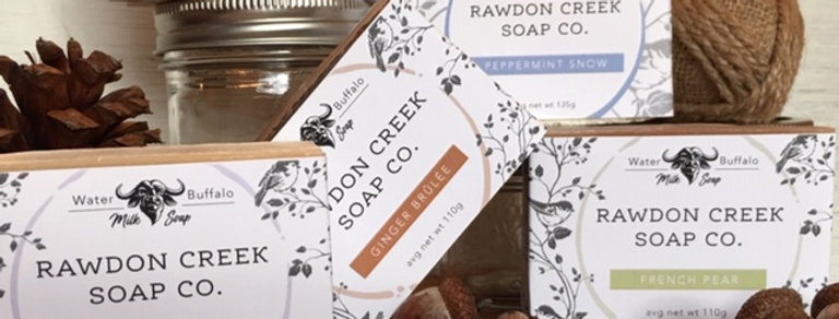 Rawdon Creek Soap - Seasonally Inspired