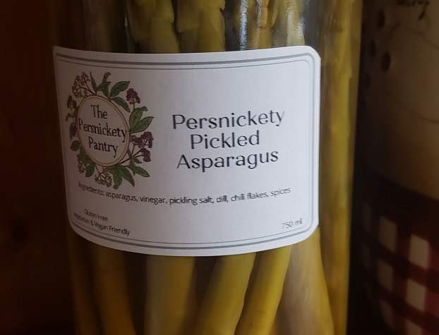Persnickety Pantry Pickled Asparagus