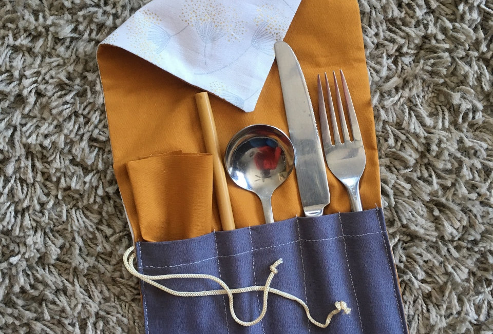 Sans Kitchen Cloth Cutlery Holders
