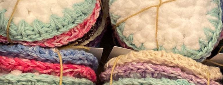 Rawdon Creek Soap Crocheted Face Scrubbies