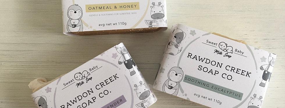 Rawdon Creek Soap - Baby Line