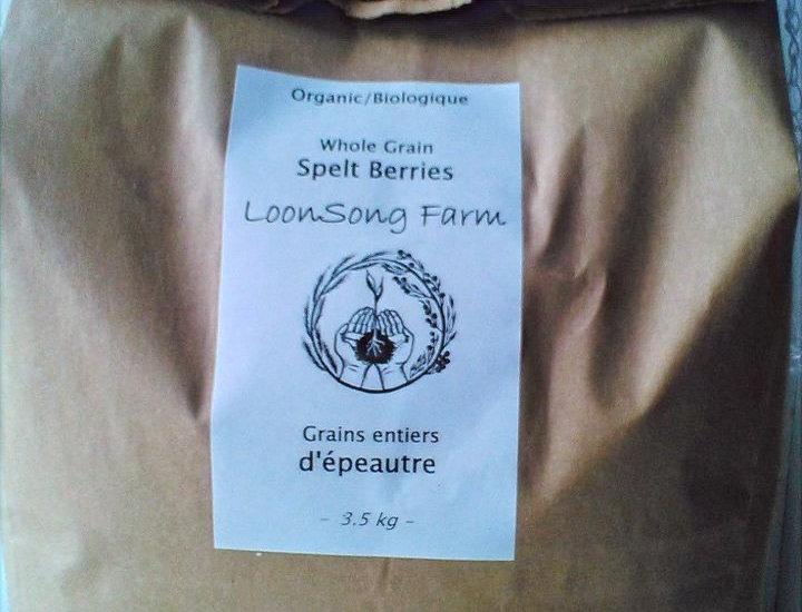 LoonSong Organic Whole Spelt Berries