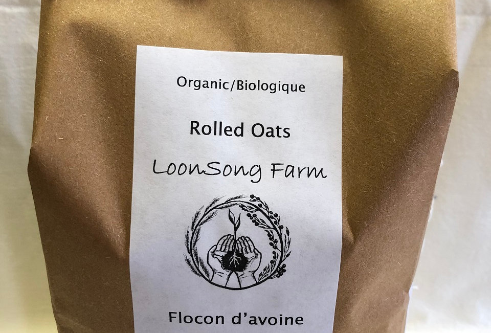 LoonSong Organic Rolled Oats