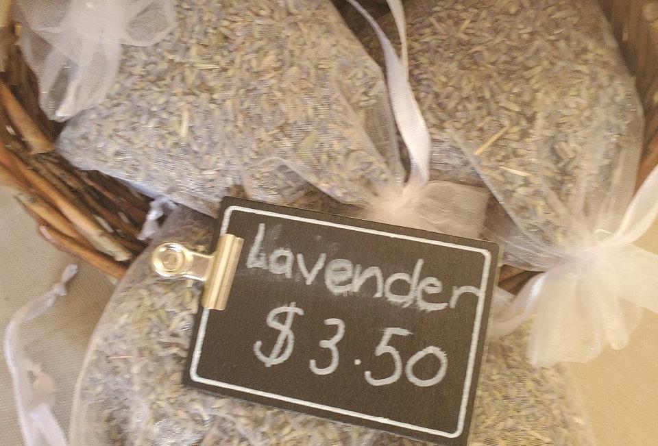Zero Waste Lavender Sachet