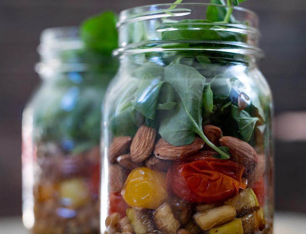 Sans Kitchen Salad Jar -- Mighty Mediterranean