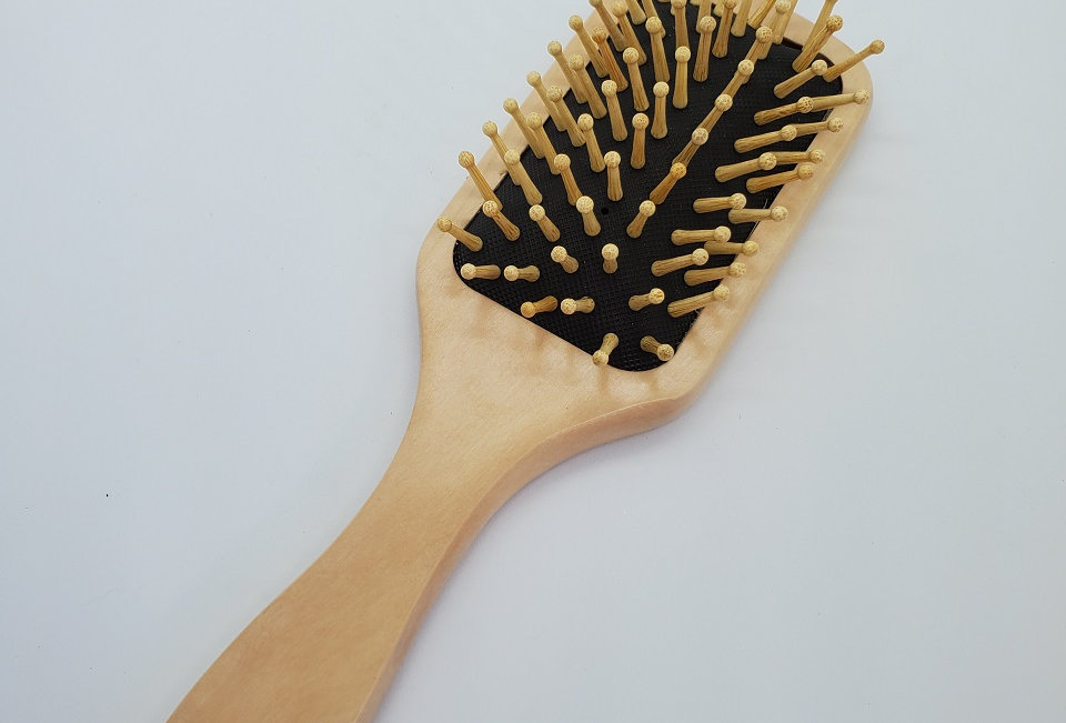 Zero Waste Wooden Hairbrush