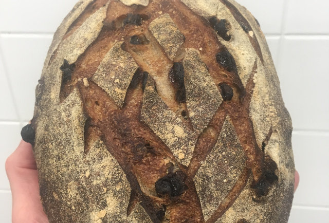 Wildflower Bakery Sourdough Raisin Bread