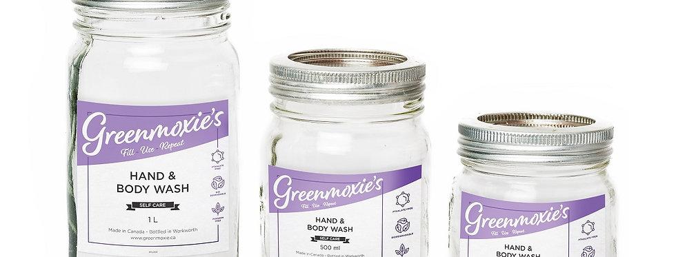 Zero Waste Mason Jar Refill - Hair & Body