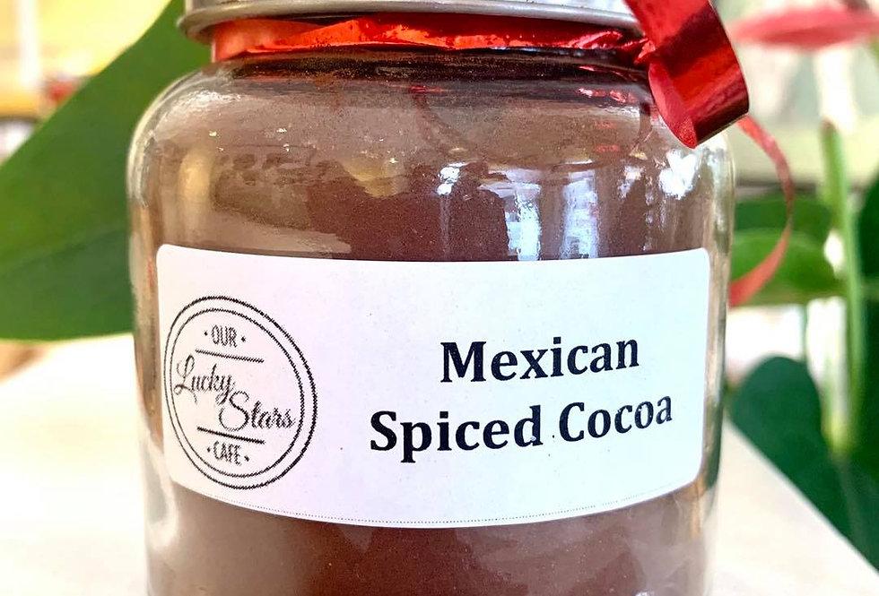 Our Lucky Stars Café Mexican Spiced Cocoa