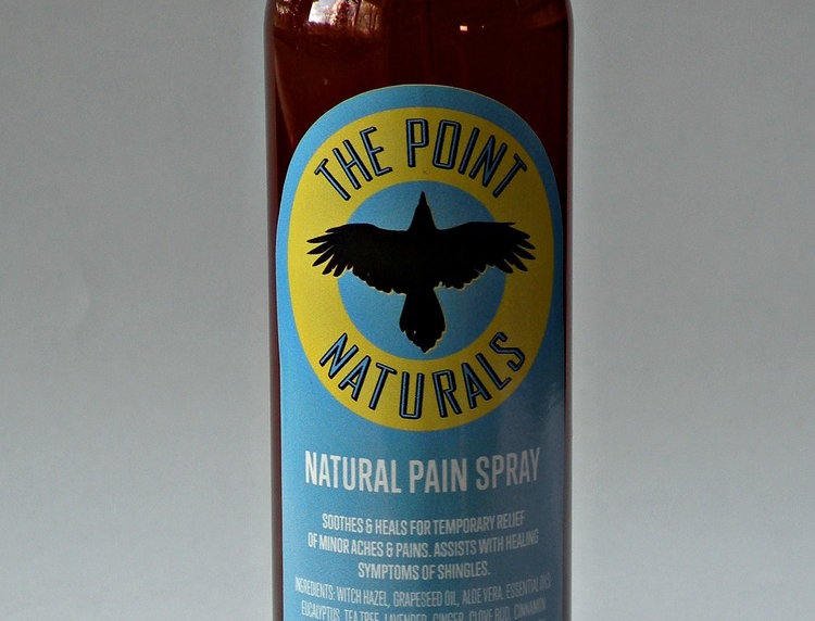 The Point Naturals Natural Pain Spray