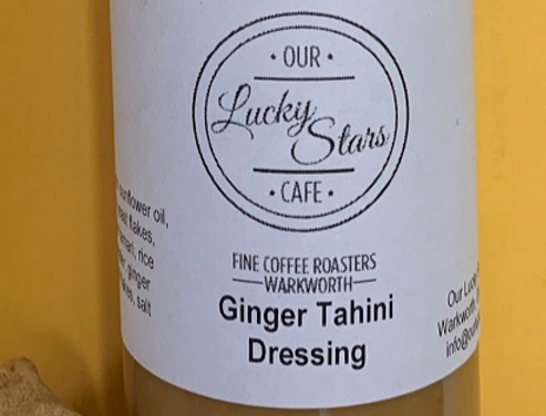 Our Lucky Stars Pantry Ginger Tahini Dressing